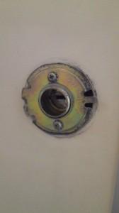 ドアノブ円筒錠3