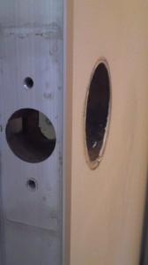 ドアノブ円筒錠5